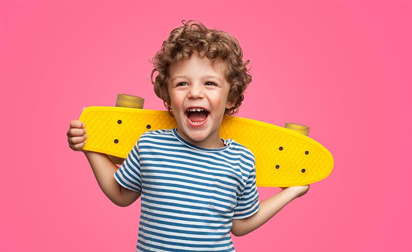 Boy Skateboard Tile 844 x 517